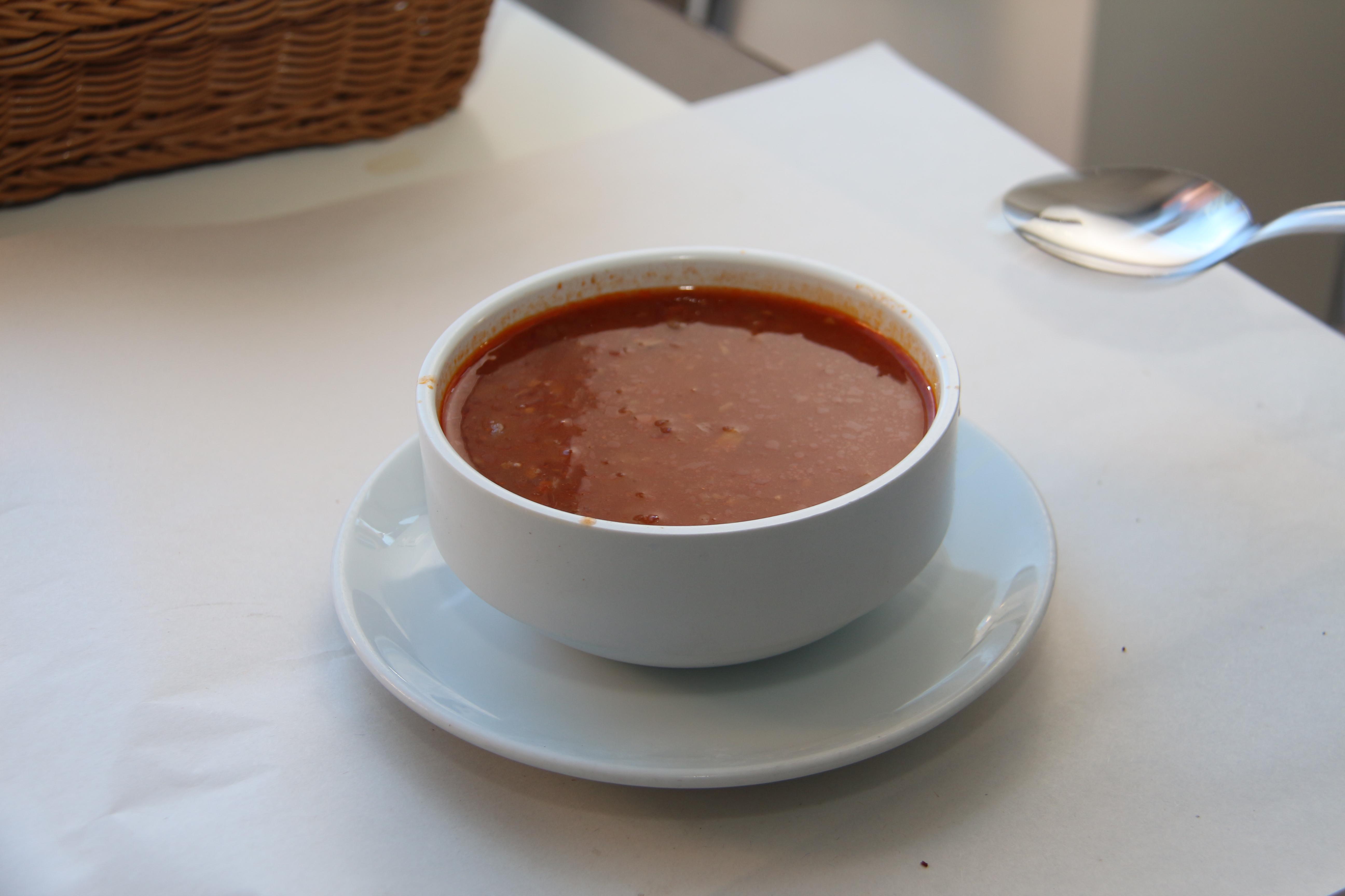 Etli Bamya Çorbası Konya